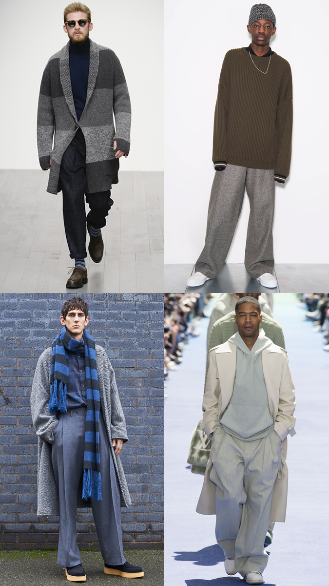 big clothes look